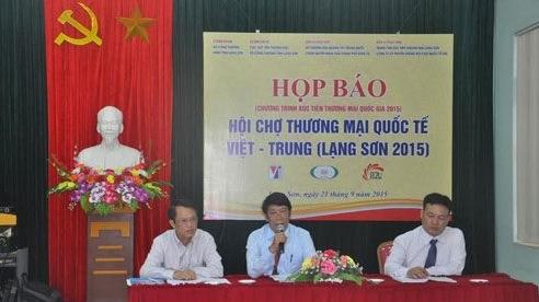Lang Son : bientot la Foire commerciale internationale Vietnam-Chine 2015 hinh anh 1