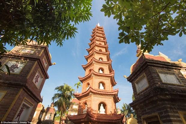 La plus ancienne pagode de Hanoi parmi les plus belles du monde hinh anh 1