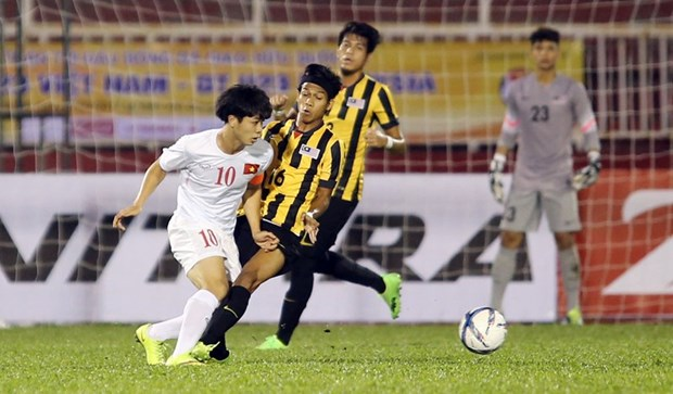 Football : le Vietnam bat la Malaisie en amical hinh anh 1