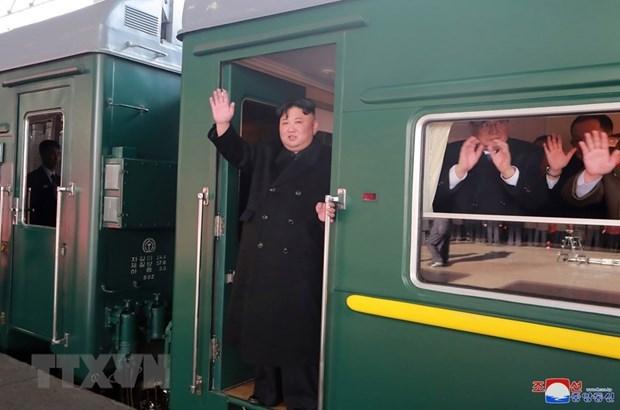 Des Sud-coreens desireux de partir pour le Vietnam en train hinh anh 1