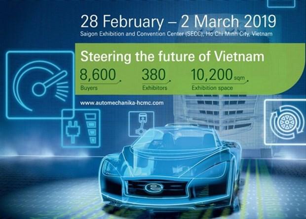 HCM-Ville: Quelque 380 entreprises participent au salon Automechanik 2019 hinh anh 1