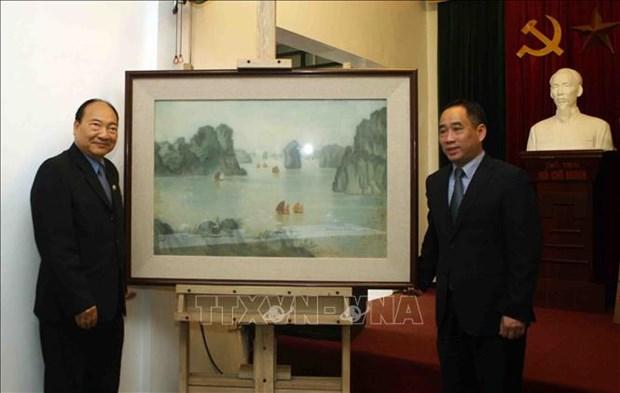 Le Vietnam aide le Laos a restaurer des œuvres d'art hinh anh 1