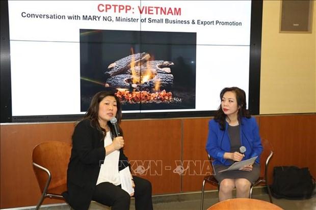 Le CPTPP devrait renforcer les liens entre entreprises vietnamiennes et canadiennes hinh anh 1