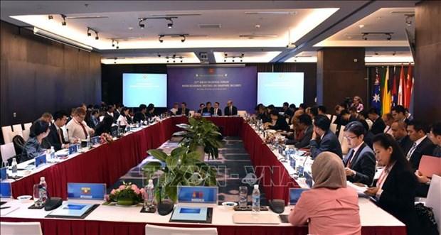 ARF: la 11e reunion du Groupe de travail de mi-mandat sur la securite maritime a Da Nang hinh anh 1
