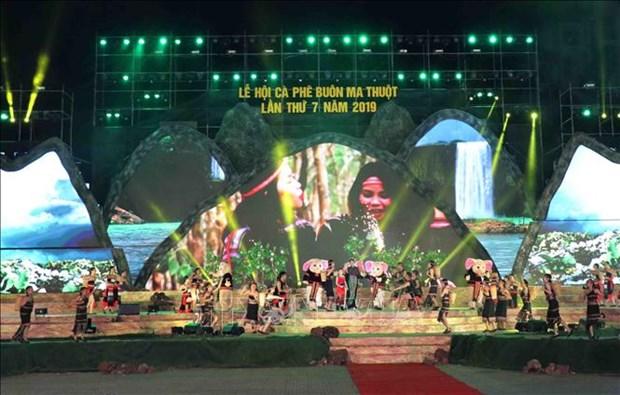 Quelques 50.000 visiteurs a la 7e Fete du cafe de Buon Ma Thuot hinh anh 1