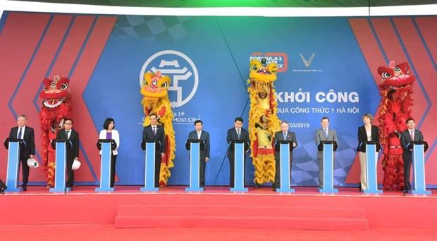 Formule 1: Hanoi met en chantier le circuit du Grand Prix du Vietnam hinh anh 1