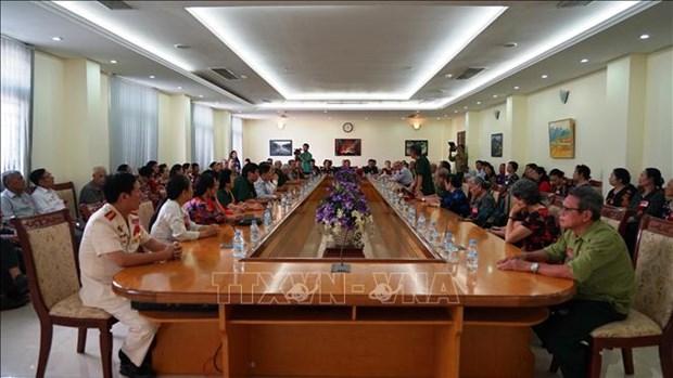 D'anciens soldats volontaires vietnamiens en visite au Cambodge hinh anh 1