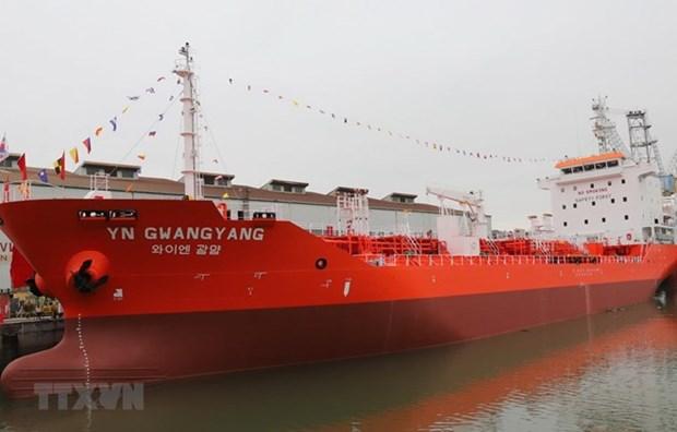 Un petrolier de 6 500 tonnes livre a un client sud-coreen hinh anh 1