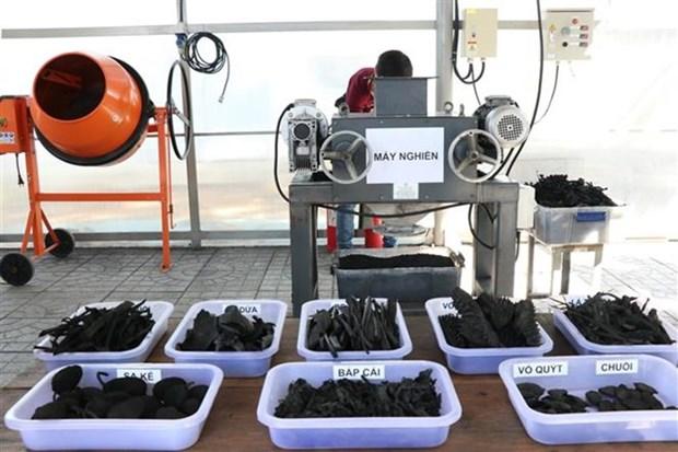 Une technologie japonaise de traitement de dechets organiques introduite a Ho Chi Minh-Ville hinh anh 1
