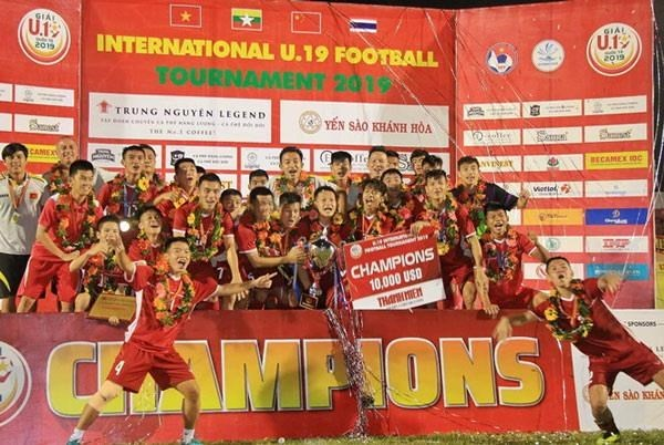 Le Vietnam, champion du tournoi international de football U19 hinh anh 1