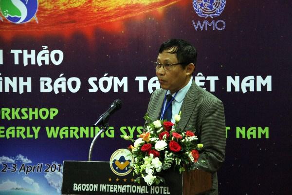L'etablissement du systeme d'alerte precoce en debat a Hanoi hinh anh 1