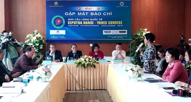 Plus de 290 joueurs participeront au tournoi de badminton Ciputra Hanoi 2019 hinh anh 1