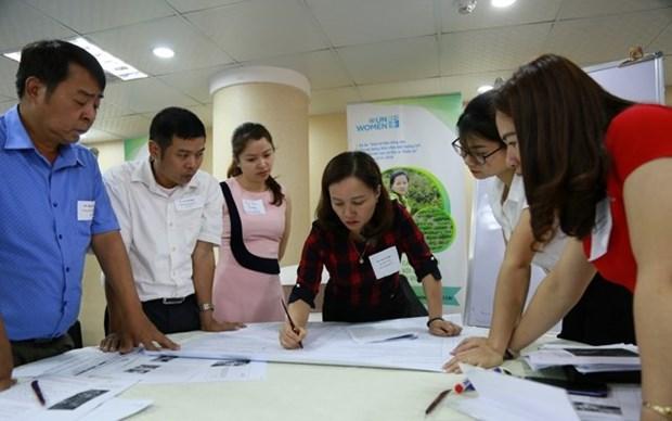 Soutien aux femmes rurales face au changement climatique hinh anh 1