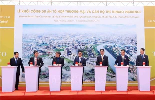 Construction d'un complexe de residence de 105 millions d'USD a Hai Phong hinh anh 1