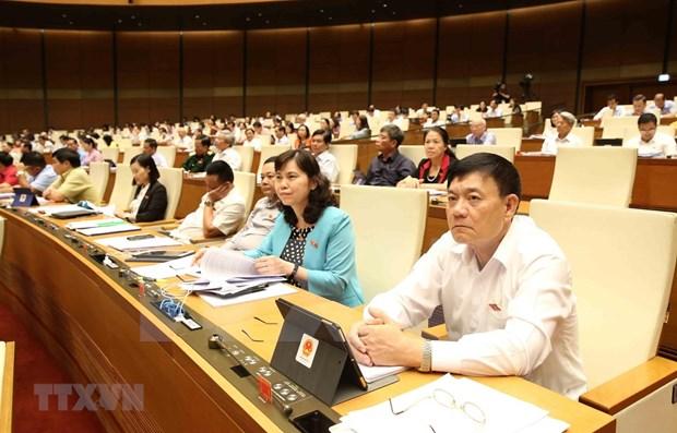 AN : Les deputes discutent de trois projets de lois hinh anh 1