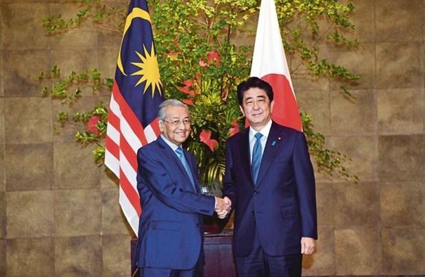 Le Japon et la Malaisie cooperent pour une region Indopacifique libre et ouverte hinh anh 1