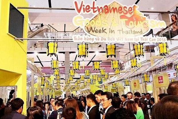 Bonne croissance des exportations vietnamiennes en Thailande hinh anh 1