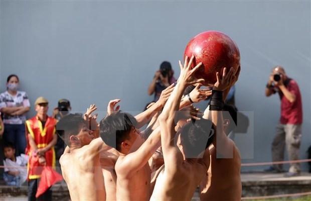 Le festival de Vat Cau, une valeur culturelle traditionnelle a conserver hinh anh 1
