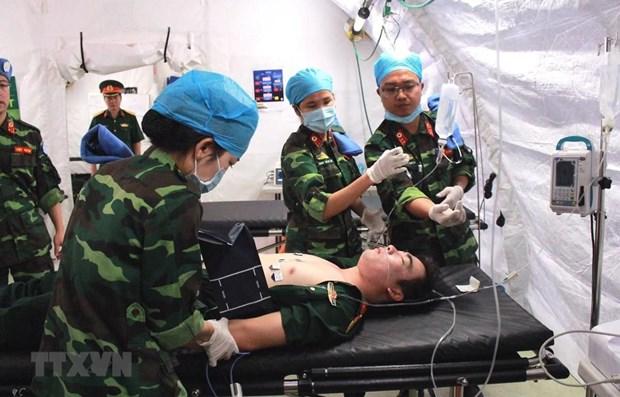 Renforcement de la cooperation en matiere de defense dans le maintien de la paix de l'ONU hinh anh 1
