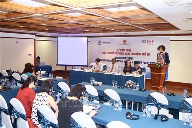 Declenchement d'un concours d'ecriture ''Prevention du travail des enfants'' hinh anh 1