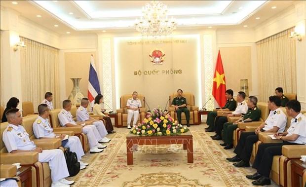 Les marines vietnamienne et thailandaise renforcent leur cooperation hinh anh 1