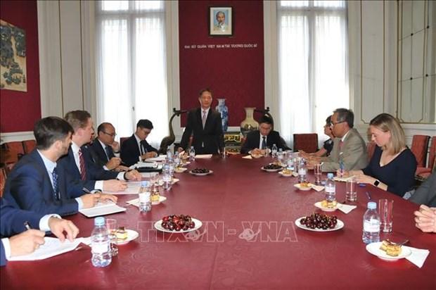 Les entreprises europeennes soutiennent la signature de l'EVFTA avec le Vietnam hinh anh 1