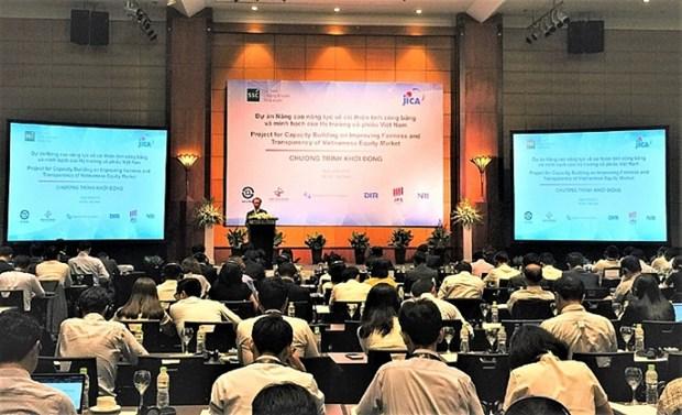 La JICA aide le Vietnam a ameliorer la transparence du marche des actions hinh anh 1