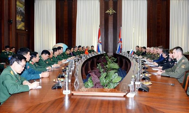 Le Vietnam et la Russie promeuvent leur cooperation dans la defense hinh anh 1
