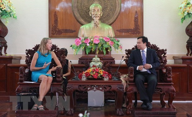 Les Etats-Unis envisagent une cooperation multiforme avec Can Tho hinh anh 1