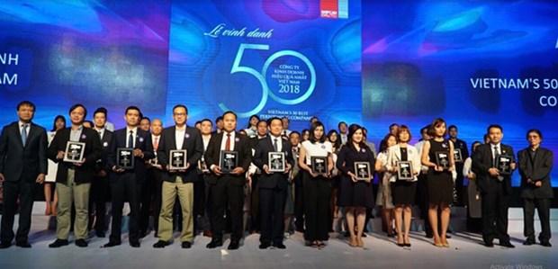 Le Top 50 entreprises les plus rentables du Vietnam a l'honneur hinh anh 1