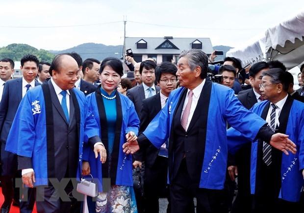 Le PM vietnamien present au Festival de lotus Japon – Vietnam hinh anh 2