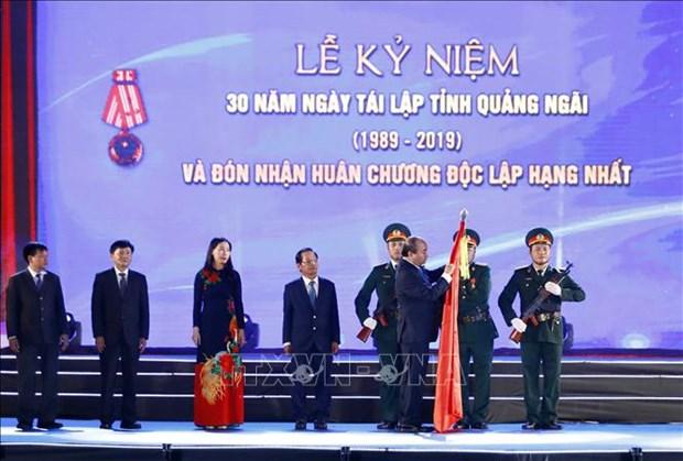 Le Premier ministre : Quang Ngai peut devenir un centre industriel du Centre hinh anh 1