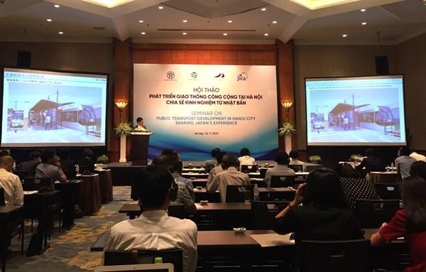 La JICA partage des experiences pour le developpement des transports public a Hanoi hinh anh 1
