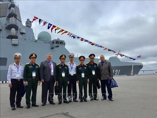 Le Vietnam present au Salon international de la Defense maritime 2019 en Russie hinh anh 1