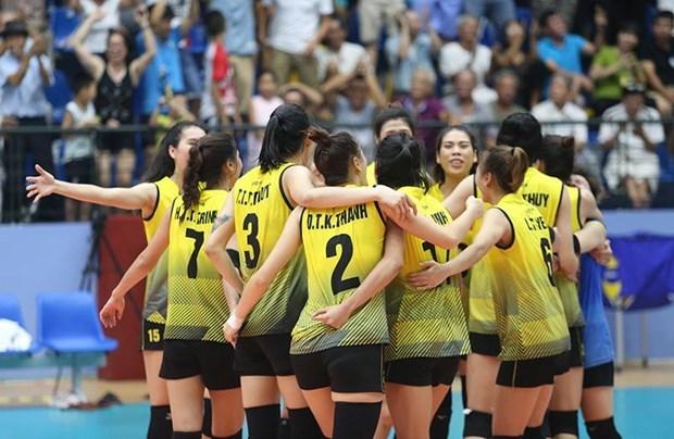 Le Vietnam arrive en 3e au tournoi U23 de volley-ball feminin d'Asie - Coupe Dong Luc 2019 hinh anh 1
