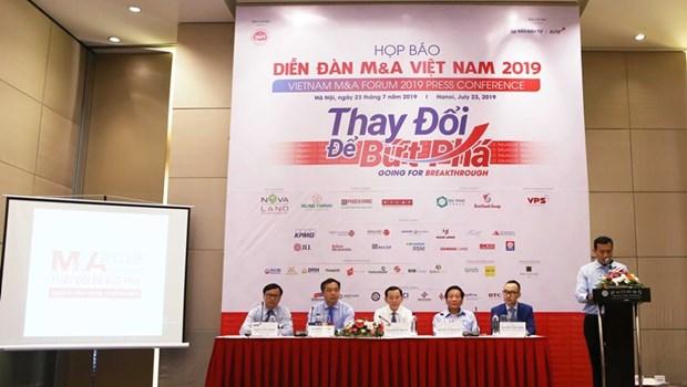 Bientot le Forum sur les fusions-acquisitions du Vietnam 2019 a HCM-Ville hinh anh 1