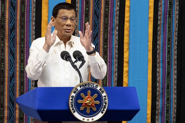Le president philippin promet de poursuivre la lutte contre les drogues et la corruption hinh anh 1