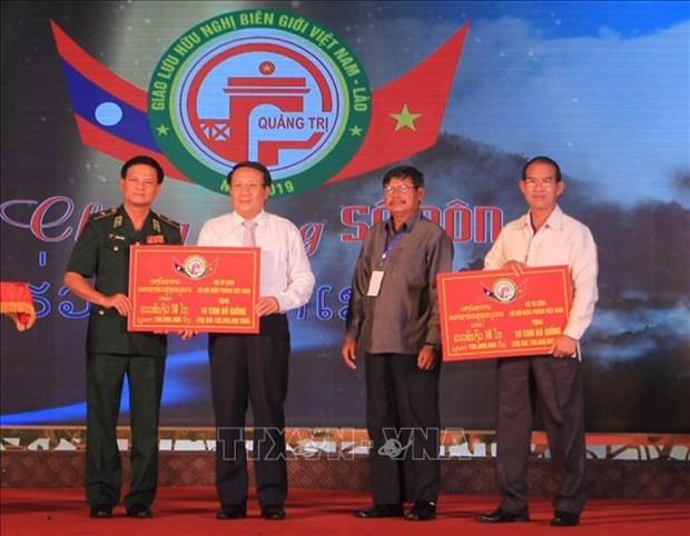 Echange d'amitie frontaliere Vietnam - Laos a Quang Tri hinh anh 3