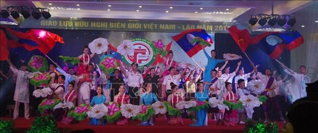 Echange d'amitie frontaliere Vietnam - Laos a Quang Tri hinh anh 1