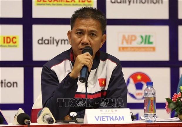 L'U18 du Vietnam prete pour le Championnat U18 d'Asie du Sud-Est hinh anh 2