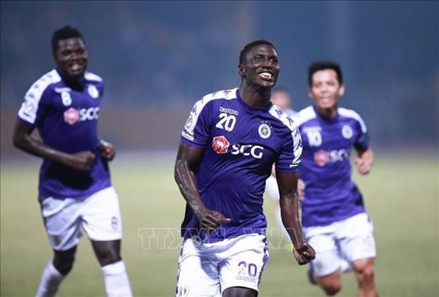 Coupe de l'AFC 2019 : Hanoi FC se qualifie pour les demi-finales apres avoir battu Binh Duong hinh anh 1