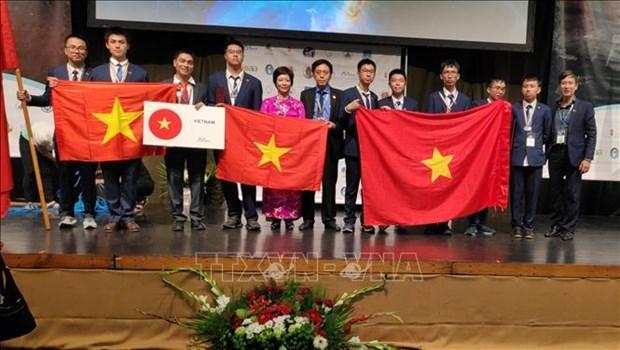 Le Vietnam prime aux Olympiades internationales d'astronomie et d'astrophysique 2019 hinh anh 1