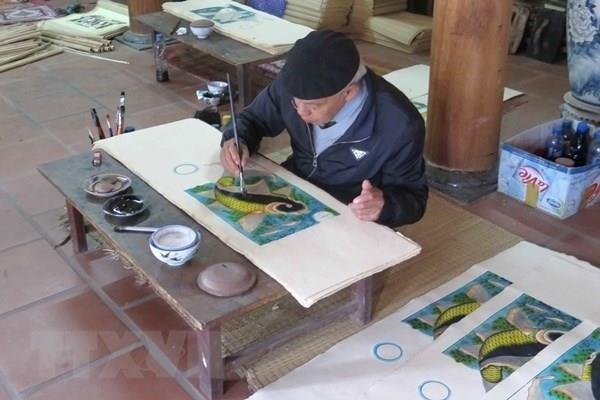 Le dossier sur l'art populaire des estampes de Dong Ho sera bientot soumis a l'UNESCO hinh anh 3