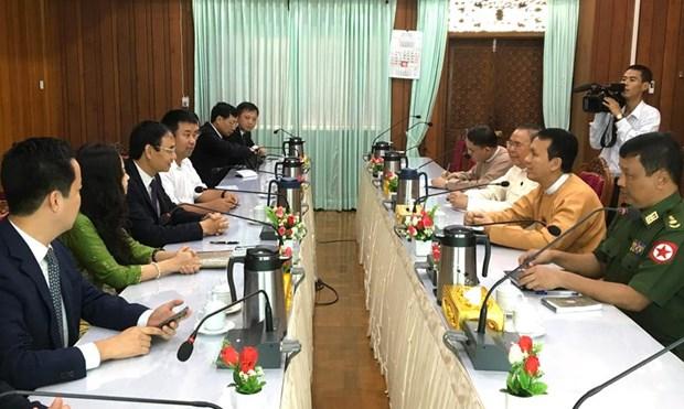 Hanoi promeut sa cooperation avec des villes du Myanmar, du Brunei et d'Indonesie hinh anh 1