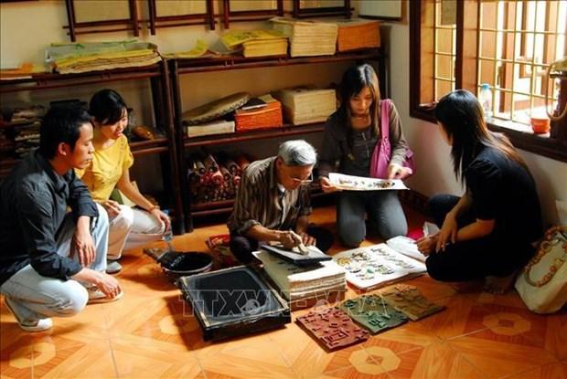 Le dossier sur l'art populaire des estampes de Dong Ho sera bientot soumis a l'UNESCO hinh anh 2