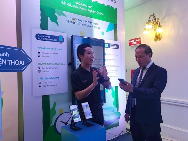 Google aide les PME vietnamiennes dans l'economie numerique hinh anh 2