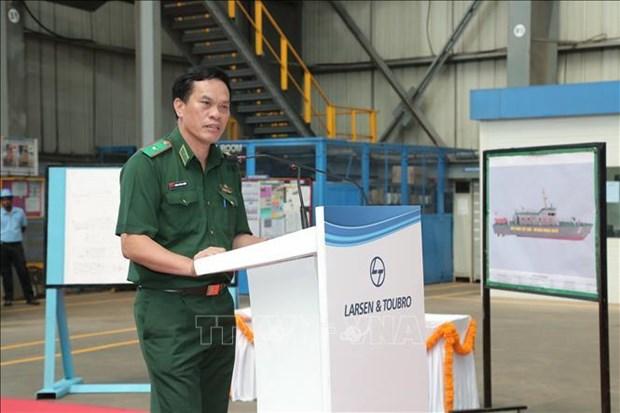 L'Inde construit 12 navires de patrouille a grande vitesse pour le Vietnam hinh anh 2