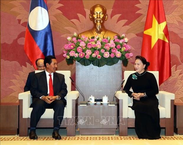 Vietnam et Laos promeuvent leurs liens de cooperation hinh anh 1