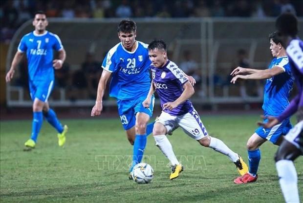 Coupe de l'AFC 2019 : Hanoi FC a battu Altyn Asyr 3-2 hinh anh 1