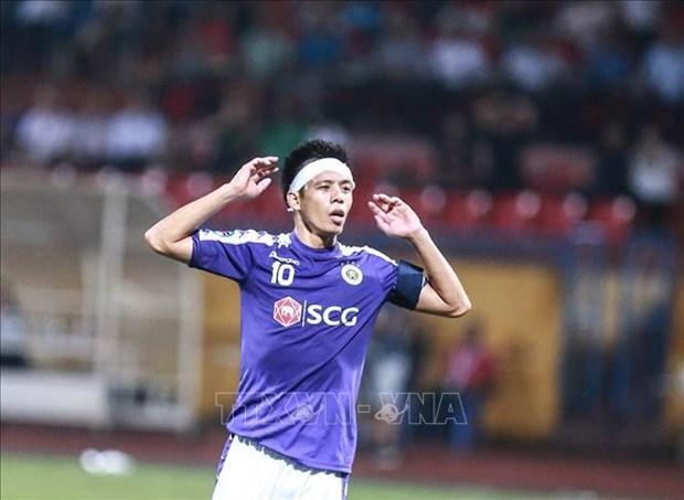 Coupe de l'AFC 2019 : Hanoi FC a battu Altyn Asyr 3-2 hinh anh 2
